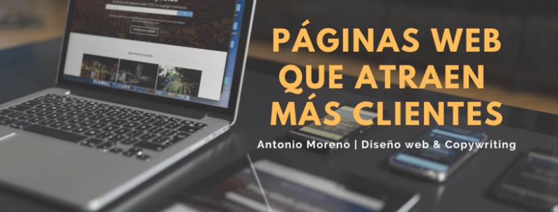 ANTONIO MORENO DISEÑADOR WEB
